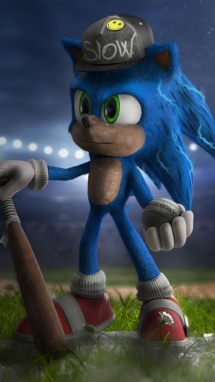 Papel de parede do Sonic para celular. Download de graça