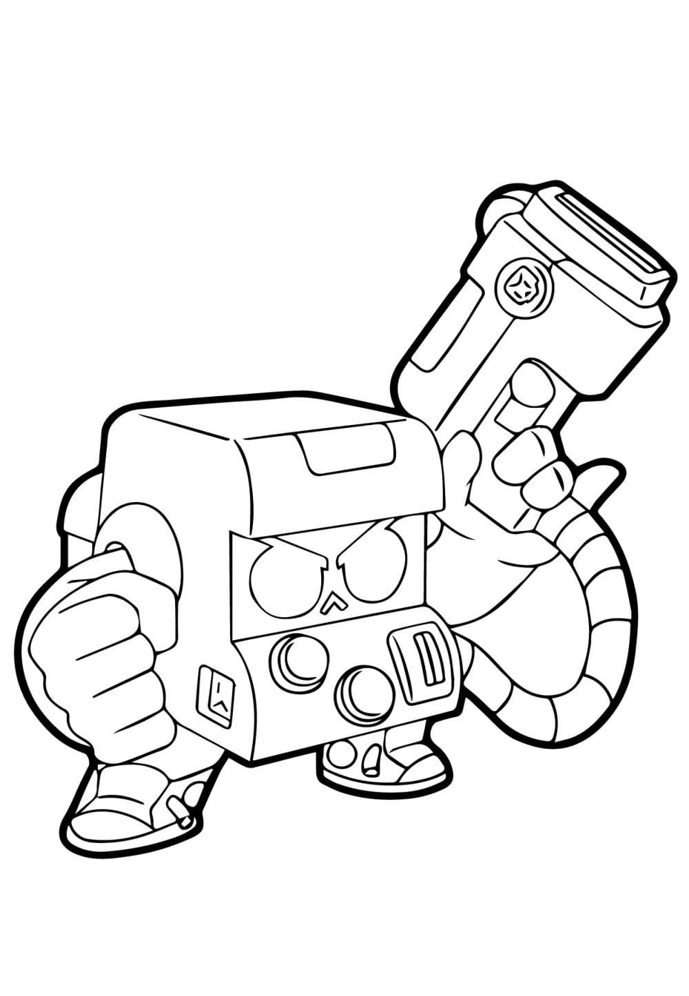 Brawl Stars Coloring pages for print. Free Printable New Collection