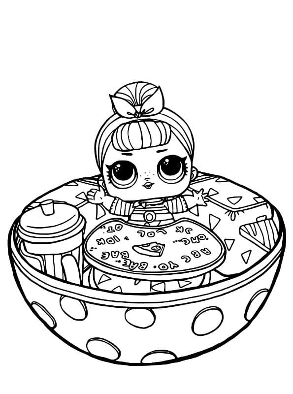 L.O.L. Surprise Dolls Coloring Pages. Print a New Collection for Free
