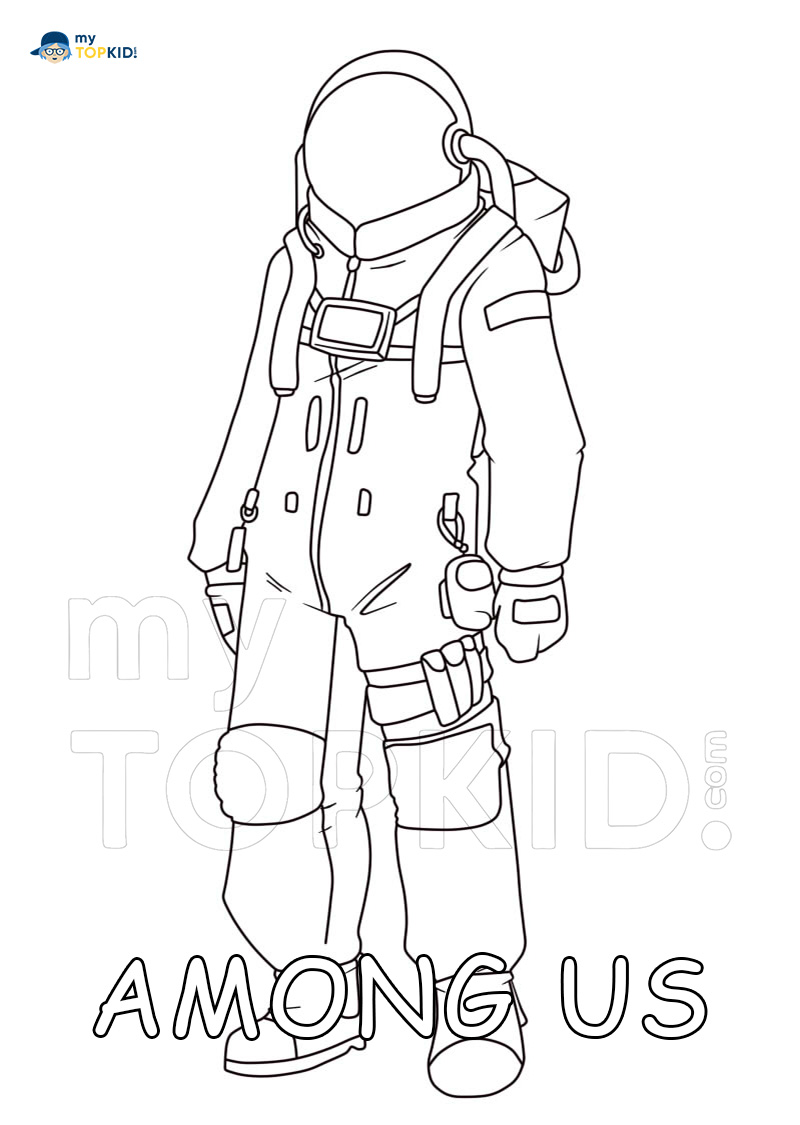 Among Us Coloring Pages - 110 Images Print a Unique Collection for Free