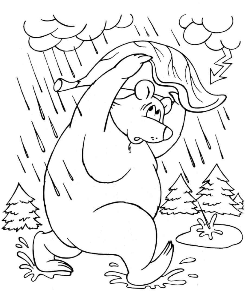 Fall Coloring Pages. 100 Images for Kids Free Printable