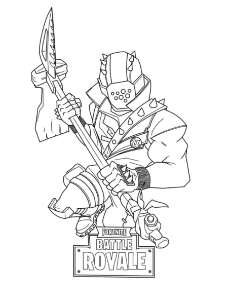Fortnite Coloring Pages. 110 New Images for Free Printing