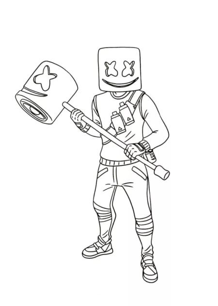 Disegni da colorare Fortnite. 110 immagini di personaggi unici da stampare