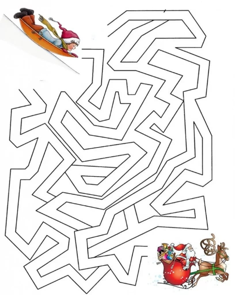 Mazes for Kids. 100 New Labyrinths Free Printable