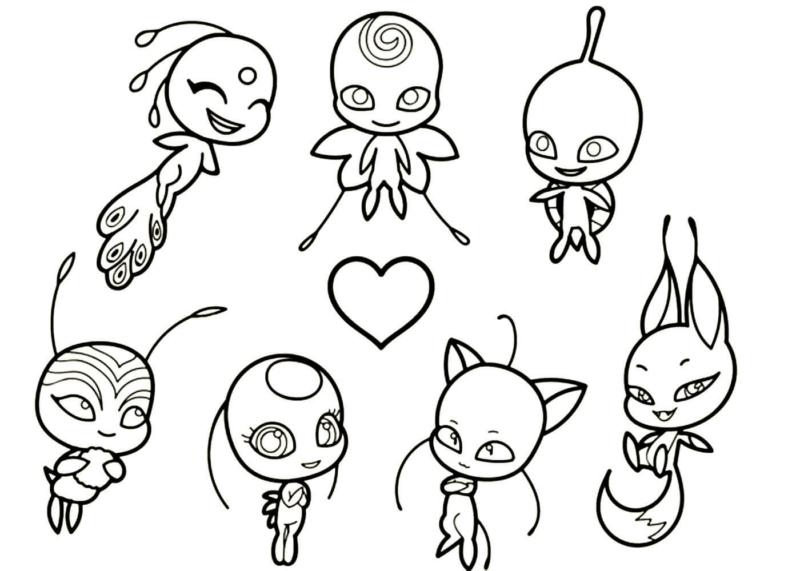 Desenho da Ladybug para colorir. Imprimir gratuitamente