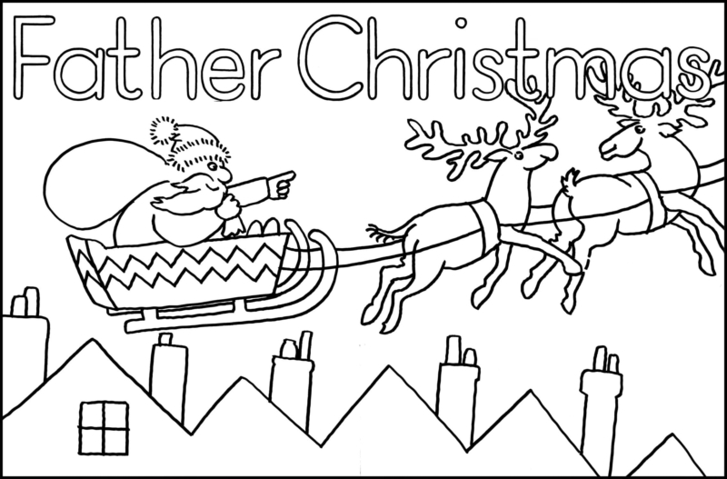 Christmas Coloring Pages. Free Printable Best Collection