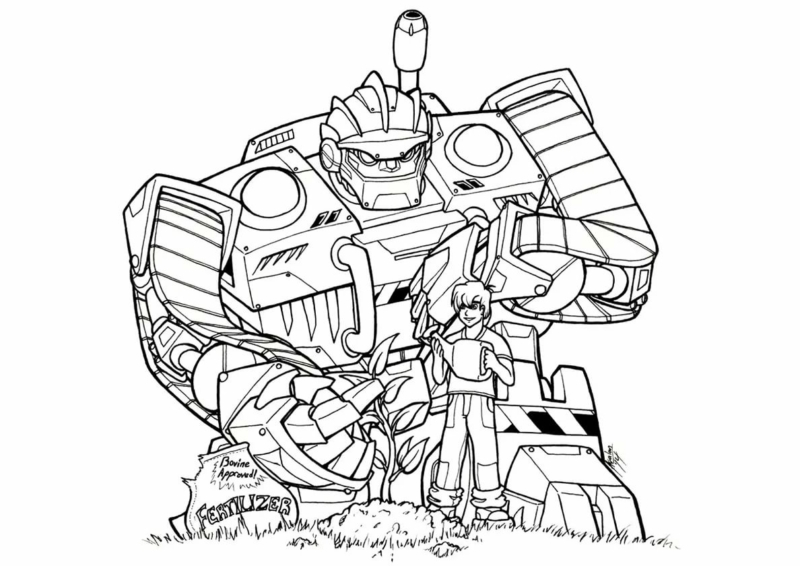 Coloring Pages Transformers. 100 Best Images Free Printable