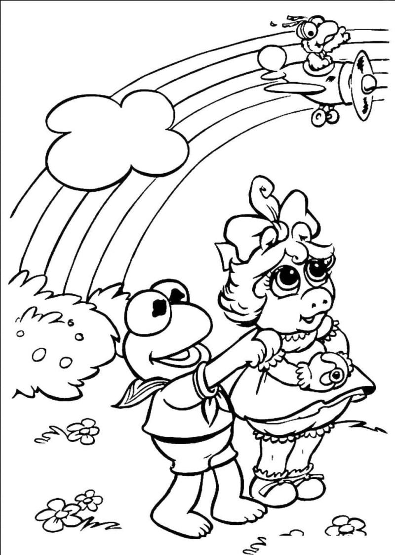Rainbow Coloring Pages. Free Printable 90 best images